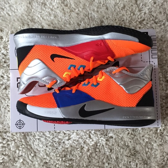 Nike X NASA Paul George PG 3 CL2666-800 11 93552 NWT